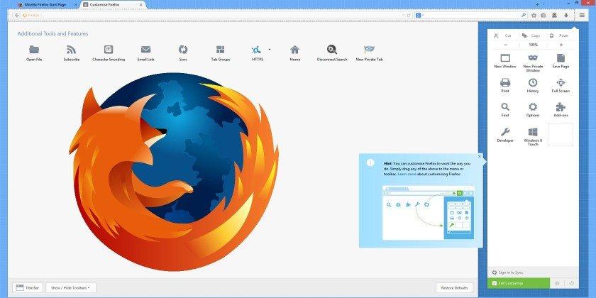 Как добавить сайт в закладки Firefox
