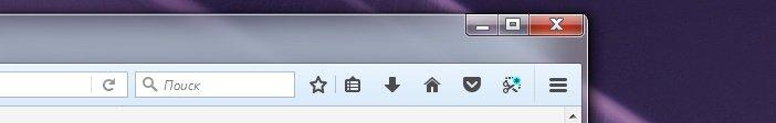 Firefox Australis кнопки