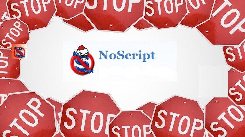 дополнение для мозилы - NoScript