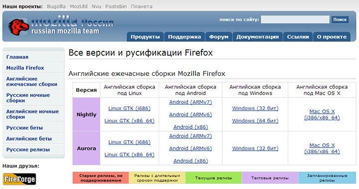 Как вернуть предыдущую версию Mozilla Firefox_1