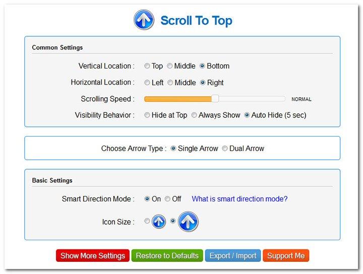 Как в Firefox добавить кнопку для быстрого перехода в начало страницы_2