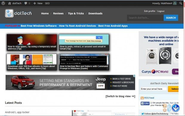 Как в Firefox добавить кнопку для быстрого перехода в начало страницы