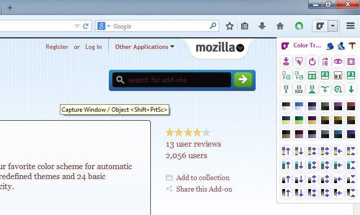 Как в Mozilla Firefox сменить цветовую тему любого сайта_3