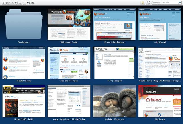 ViewMarks — альтернативный менеджер закладок для Mozilla Firefox